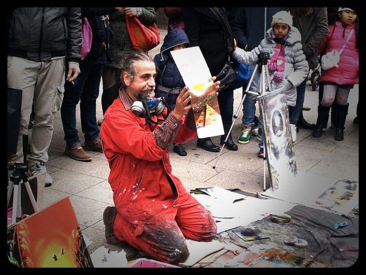 Artisti di strada a Milano