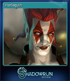 Cromo de Steam «Harlequin» de Shadowrun Returns