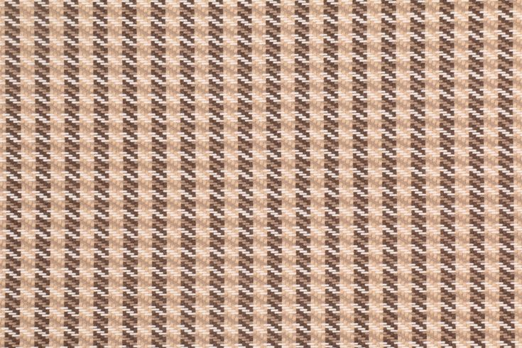 1.13 Yards Outdura Solution Dyed Acrylic Outdoor Fabric in Brown/Camel Houndstooth. This Famous Maker brand of woven outdoor fabric has long been a household name. This high end brand is used by top design...
