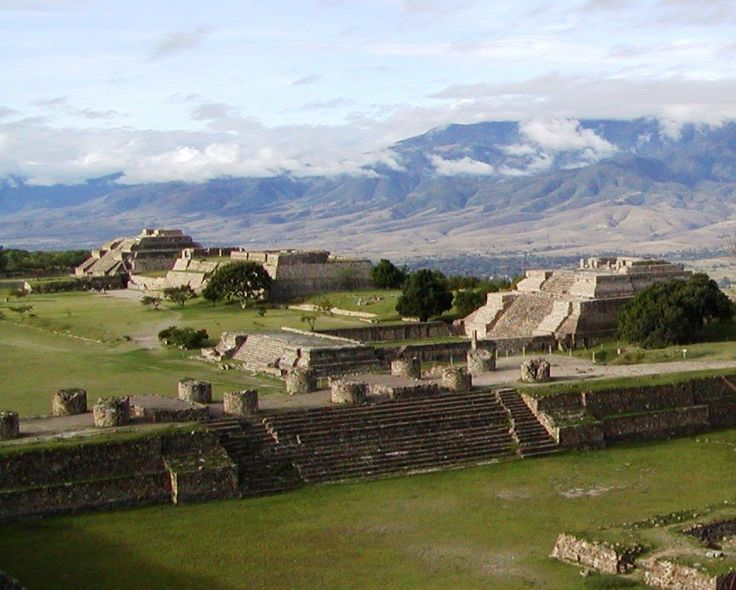 Monte Alban (Mexico).                                                                                                                                                                                 More