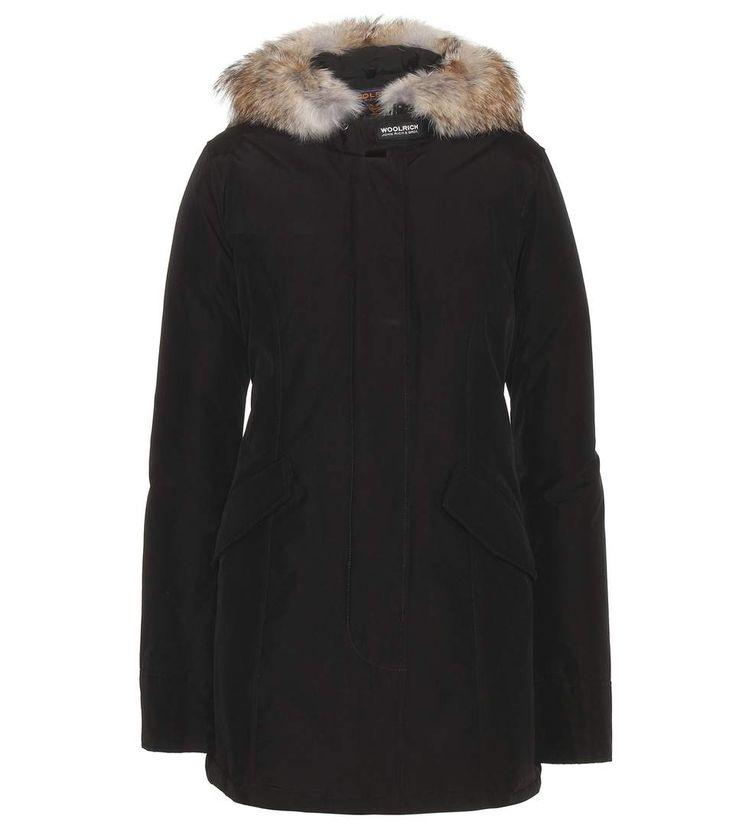 WOOLRICH Arctic Parker coat with fur trim. #woolrich #cloth #coats