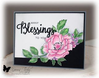 Diana Nguyen, Many Blessings, Altenew, ODBD, Beautiful Day