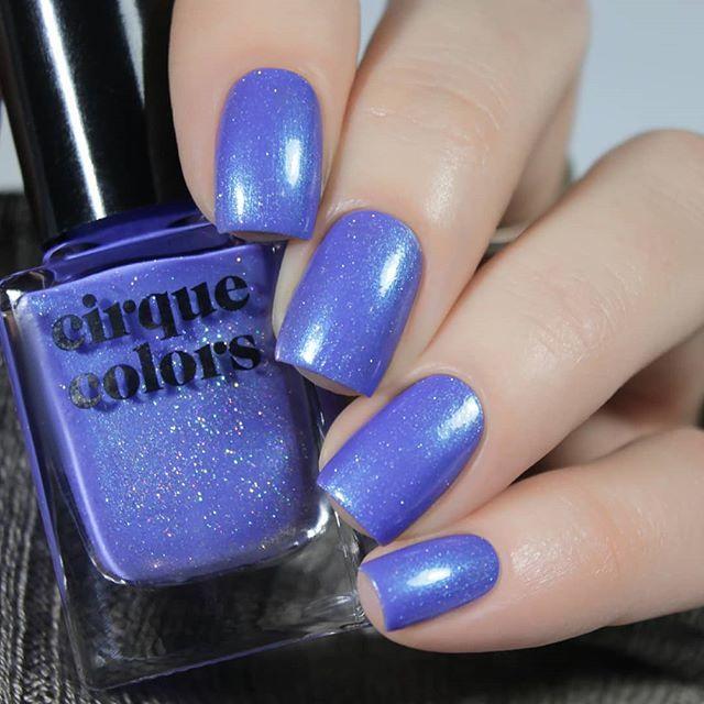 Cirque Colors Nocturne Blue Nails Spring Nails Blue Nail Polish