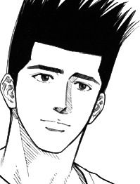 Akira Sendoh, my fav. Character in slam dunk ❤️ .. I really love him !!
