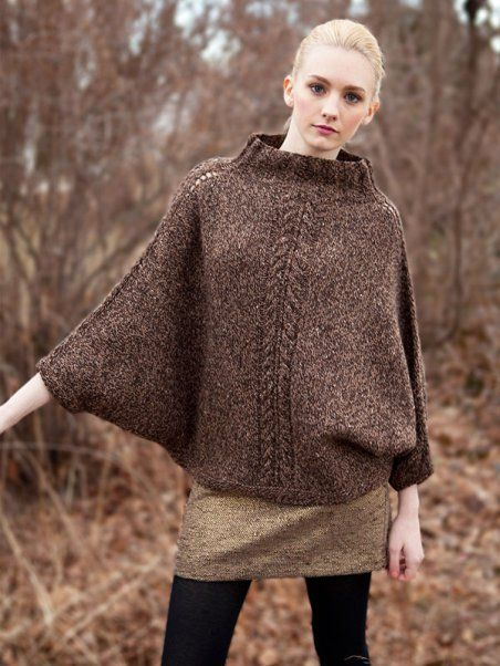 Poncho Knitting Patterns | In the Loop Knitting