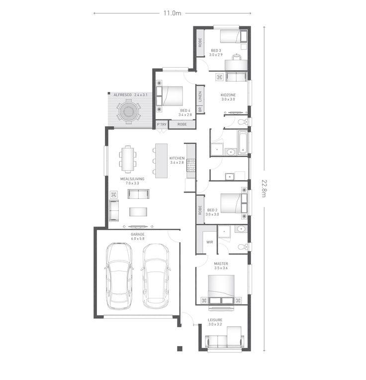 Telford 22 plan ausbuild new homeshome designfloor