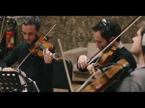 Quatuor Ebène & Michel Portal record 'Elucubration' for the album Eternal Stories - YouTube