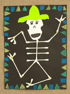 "WHAT'S HAPPENING IN THE ART ROOM??: 2nd GRADE--""Day of the Dead"""