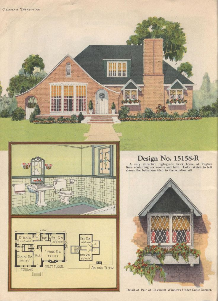 17 Best 1000 images about Vintage Home Plans on Pinterest House plans