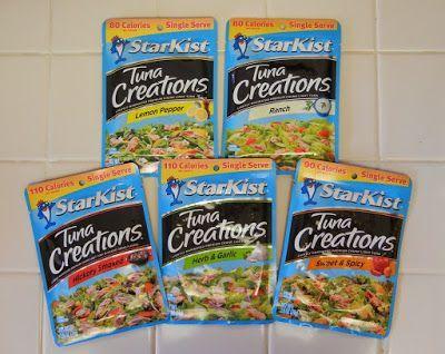 Post Weight Loss Surgery Cheap Food Ideas Starkist Tuna Creation Packets