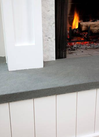 The 7 best images about Bluestone hearth on Pinterest | Mantels ...