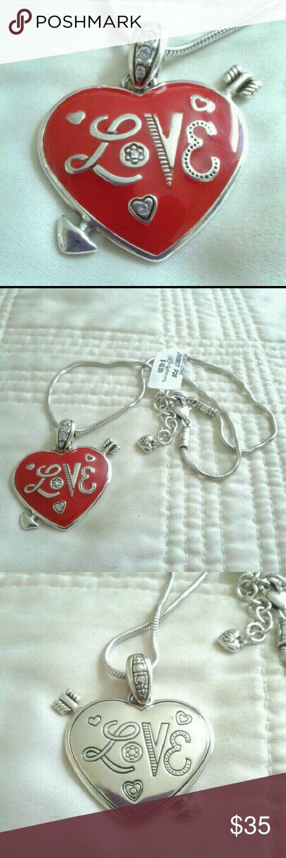 New Brighton Love Heart Necklace New Brighton Love Heart Necklace Brighton  Jewelry Necklaces