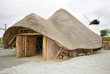 Visit the replica Iron Age settlement beside Llynnon Mill in Llandeusant on the Isle of Anglesey. Click here to browse Anglesey holiday cottages http://www.qualitycottages.co.uk/anglesey/holiday-cottages-anglesey.php
