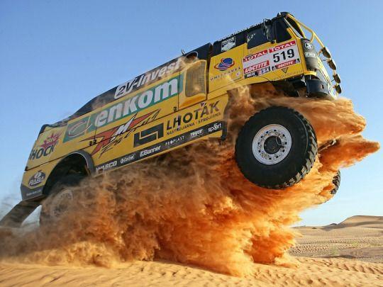 Liaz rally raid truck