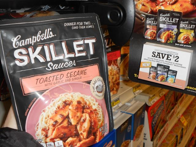 Campbell's Skillet Sauces #Dinnerin15 Twitter Party 1/22 1-2 pm EST