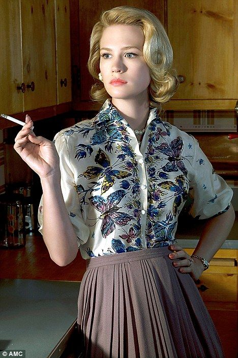 Minus the cigarette, Betty Draper is another of my style icons! (particularly from the early seasons set in the early 1960's, the late 60's is definitely not my style)