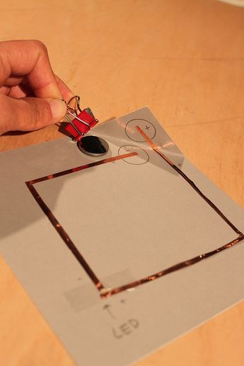 tips on getting learners started with copper circuits on paper - from SF exploratorium