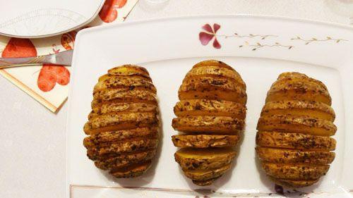 Pieczone ziemniaki po szwedzku