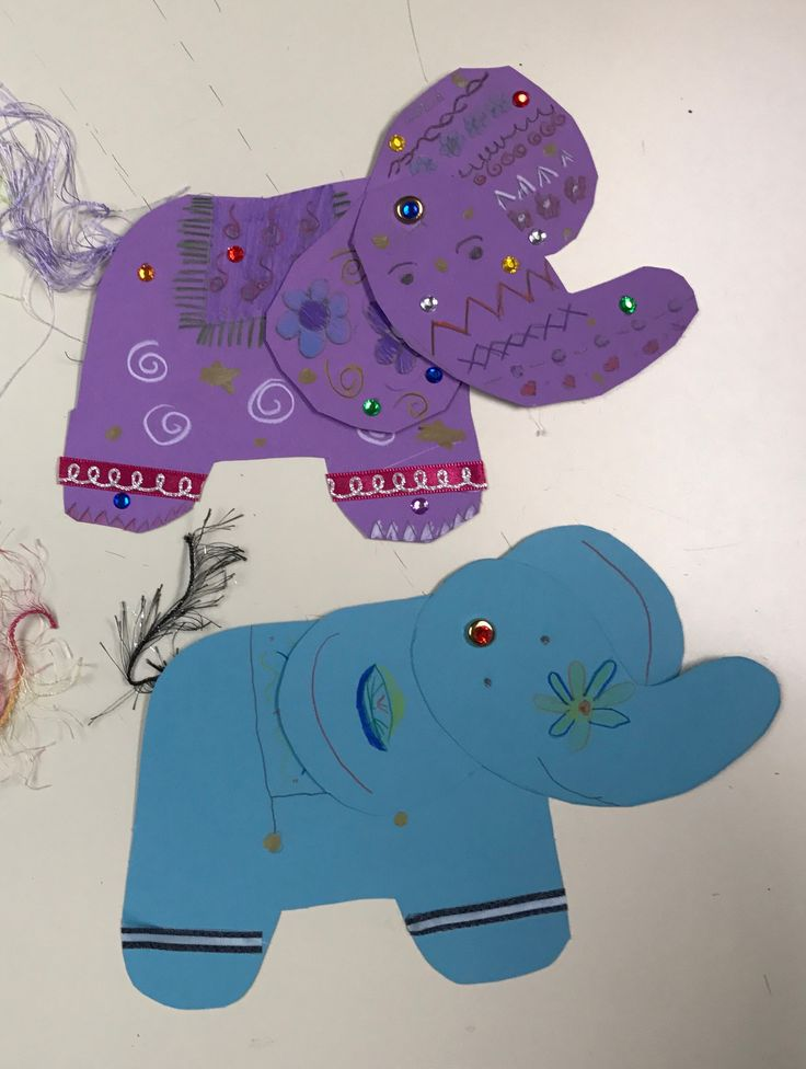 Painted Indian Elephants project