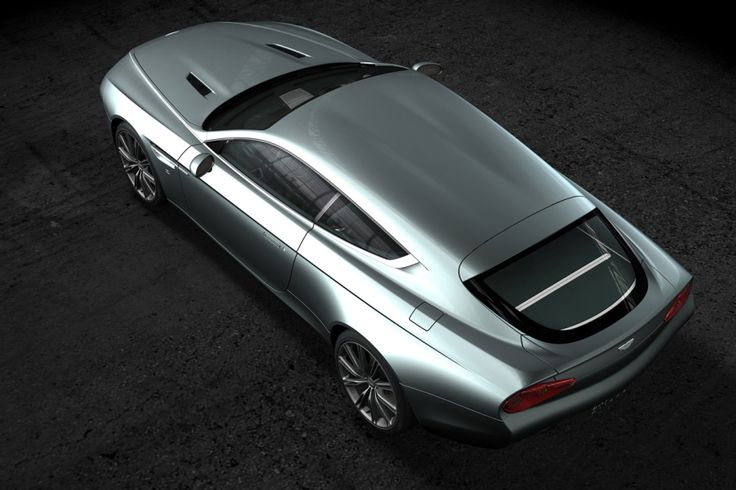 Aston Martin Virage Shooting Brake Zagato..looks like a dinky toy in this shot