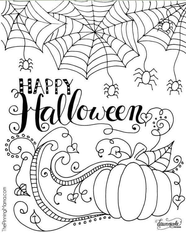 20 Free Printable Halloween Coloring Pages For Adults Kids There S Something Fo Halloween Coloring Halloween Coloring Sheets Free Halloween Coloring Pages