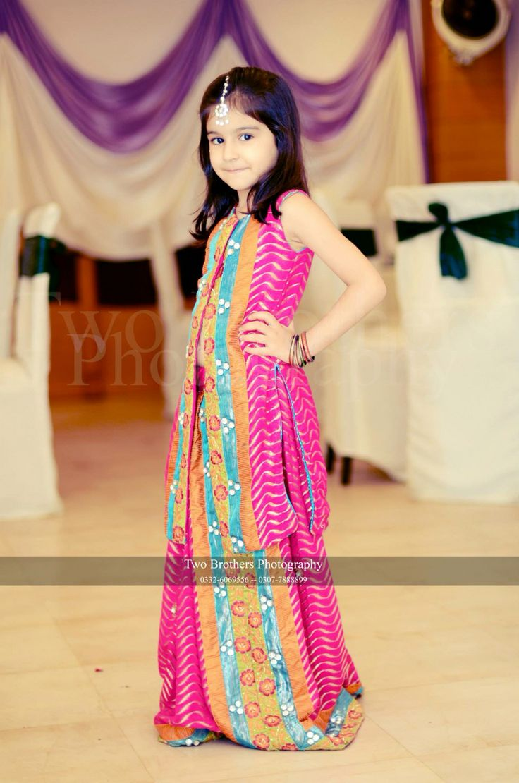 Pakistani Kids Dresses For Wedding