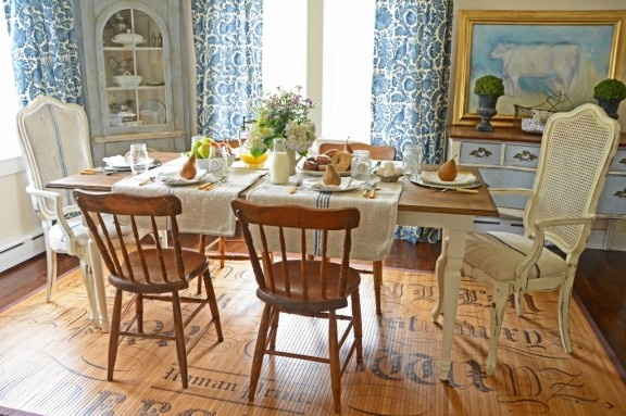 Very easy DIY farmhouse table - someday!Dining Area, Farms House, Dining Room, French Farmhouse, French Country, Mustard Seeds, Beautiful Shots, Farmhouse Tables, Farms Tables