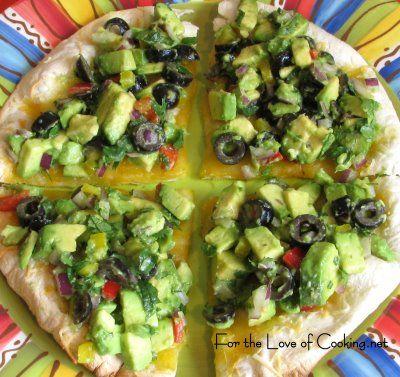 Quesadillas - Avocado & Olive