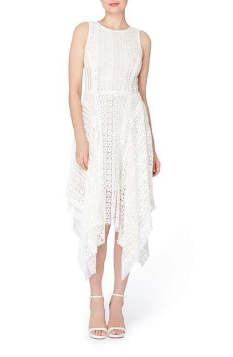 Catherine Catherine Malandrino Webb Lace Midi Dress