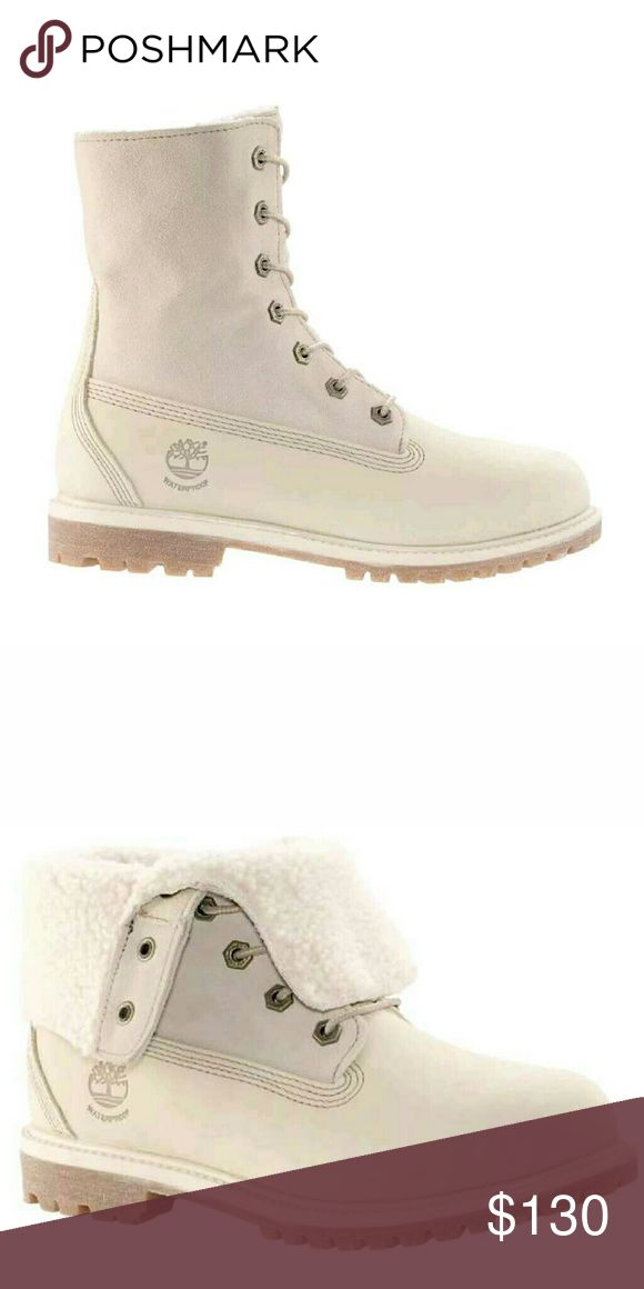 Womens teddy fleece timberland boots New w/ box Timberland Shoes Ankle Boots & Booties