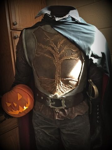 DIY Headless Horseman Figure/Prop