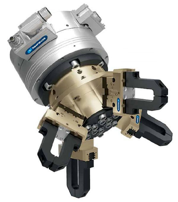 Pneumatic gripper / parallel / 2-jaw / compact RVK SCHUNK