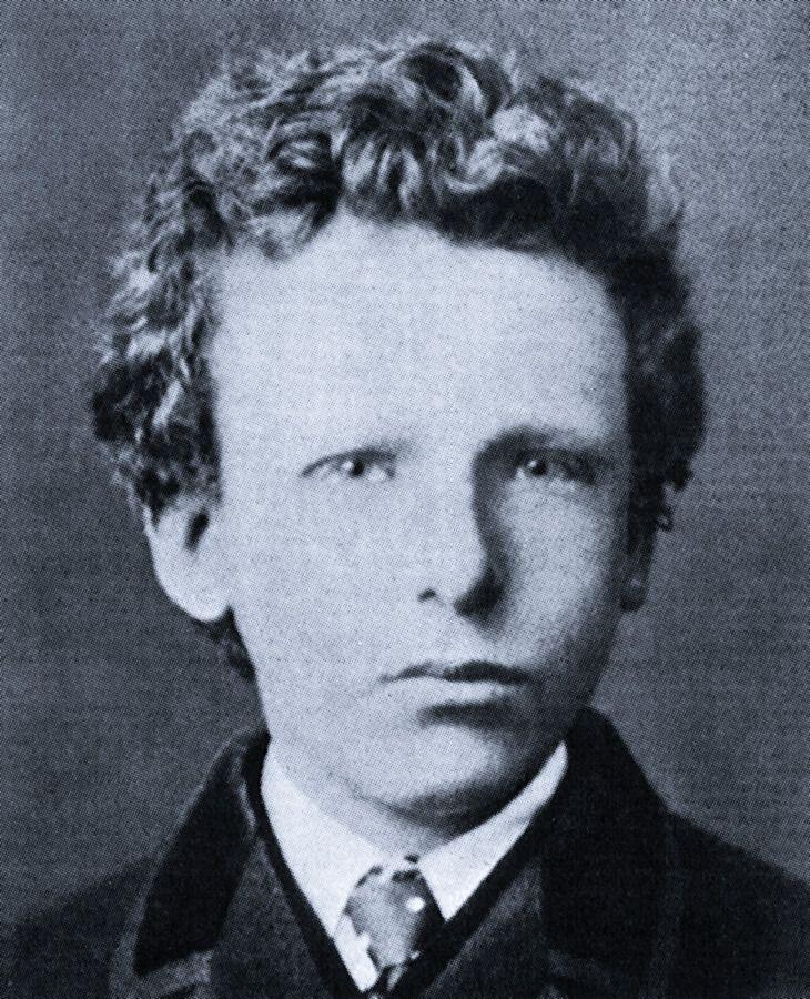 Young Vincent van Gogh, (age 13)