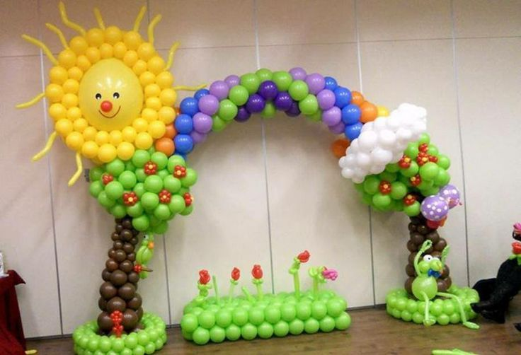 651 best bal es images on pinterest balloon decorations for Arch decoration crossword clue