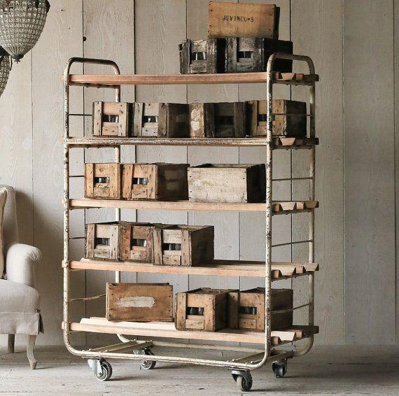 Vintage Bread Racks - Display or Storage