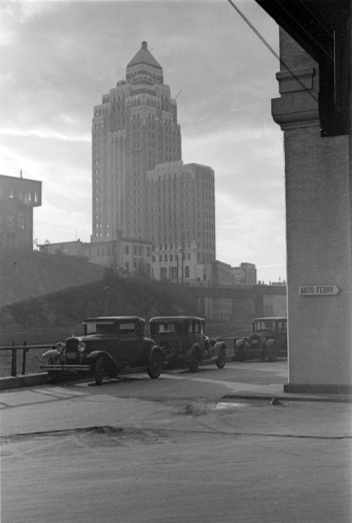 View of the Marine Building 1936 by James Crookall