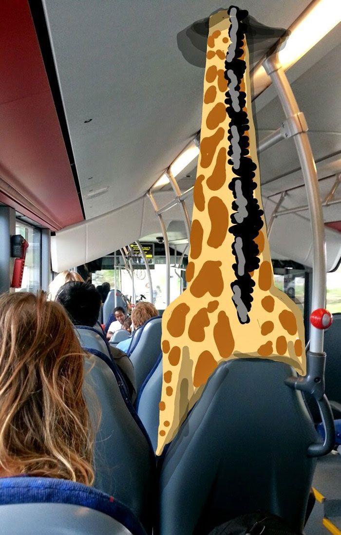 best snapchat drawing giraffte