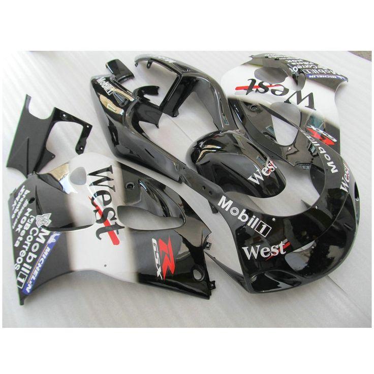 330.00$  Buy here - http://ali1yp.shopchina.info/1/go.php?t=32596853116 - Hot sale Fairing kit fit for SUZUKI GSXR600 GSXR750 1996-2000 fairings set GSX-R 600/750 96-00 black white West bodykits FF37  #bestbuy