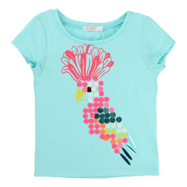 Sequin Parrot T-Shirt-product