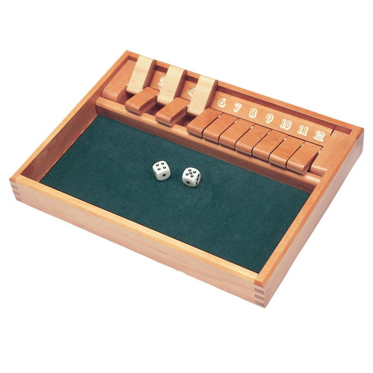 Shut the Box game: Creative Gifts, Boxes Young, Educational Toys, Education Toys, Numbers Games, Plays Toys, Boxes Games, Big Fun, Specialty Toys