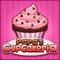 Papa's cooking up some cupcakes! Cook a ridiculous amount of delicious cupcakes for all your wacky customers in Papa's Cupcakeria! www.primarygames.com