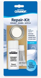 Bath Enamel and acrylic chip and crack repair