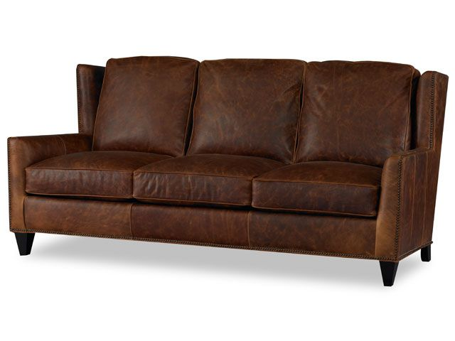 bradington young logo. Contemporary Young Distressed Brown Leather Sofa By Bradington Young On Logo