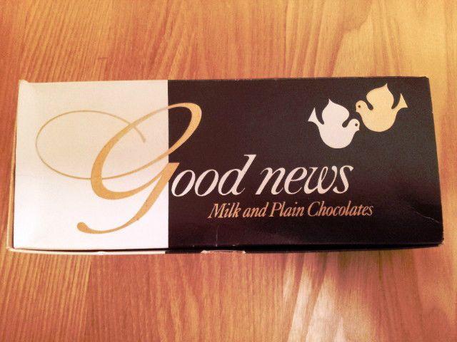 Vintage chocolate box: Good News by Rowntree Mackintosh 1/2lb