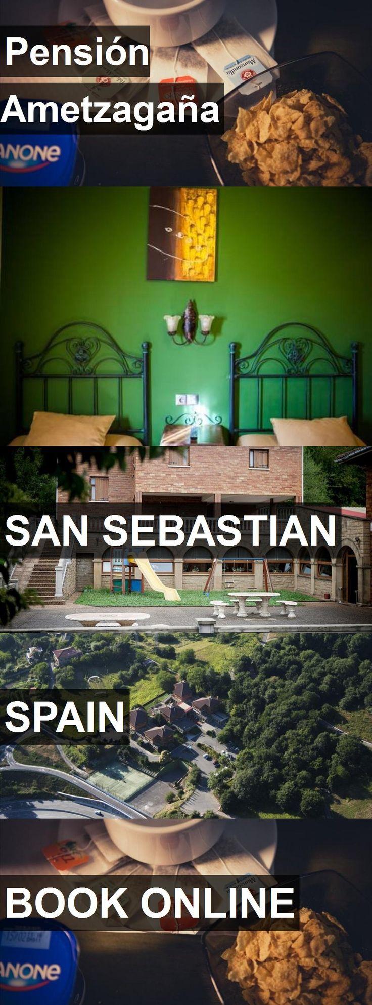 Hotel Pensión Ametzagaña in San Sebastian, Spain. For more information, photos, reviews and best prices please follow the link. #Spain #SanSebastian #travel #vacation #hotel