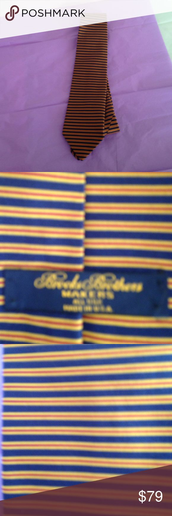 Brooks Brother's makers mark all Silk tie Brooks brothers all Silk tie Brooks Brothers Accessories Ties