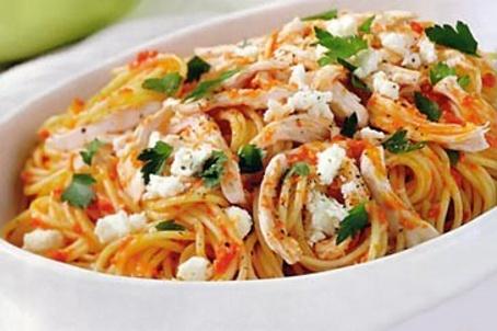 Spaghete cu sos Napolitan