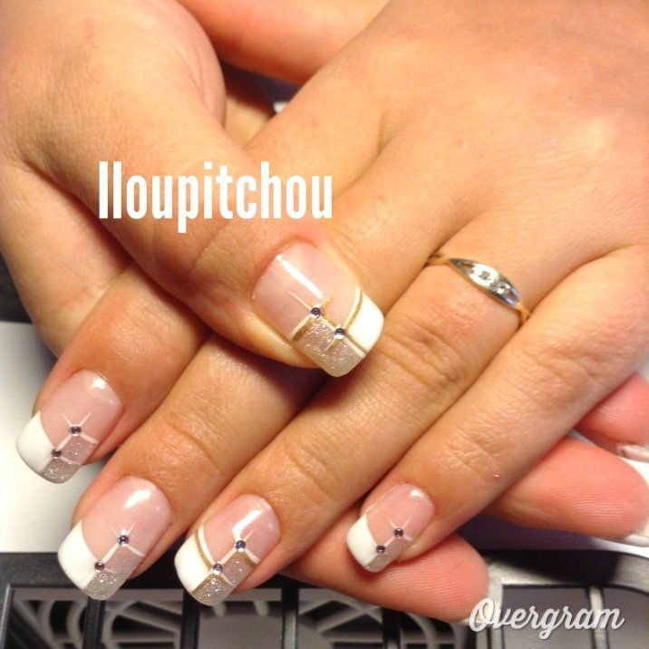 Deco Ongle Gel French Couleur