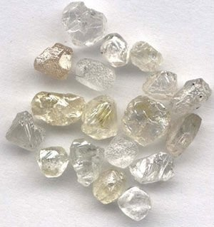 I love raw, uncut diamonds.  I think they're even prettier than fancy princess- or pillow-cut pure things.