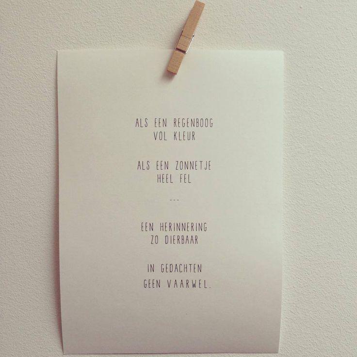 Favoriete Ik Word Tante Gedicht #NOD08 - AgnesWaMu &GD39